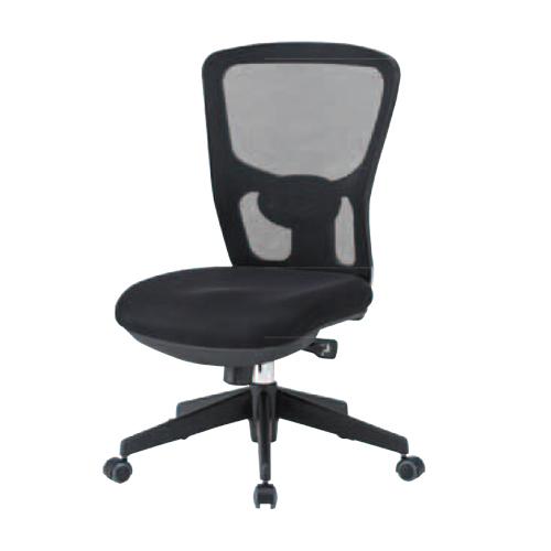 ★新品★ チェア 肘付無 背付 ロッキングチェア 椅子 いす オフィス 会社 OAメッシュ ランバーサポート 黒 ブラック パソコンチェア デスクチェア SOHO FCM-5
