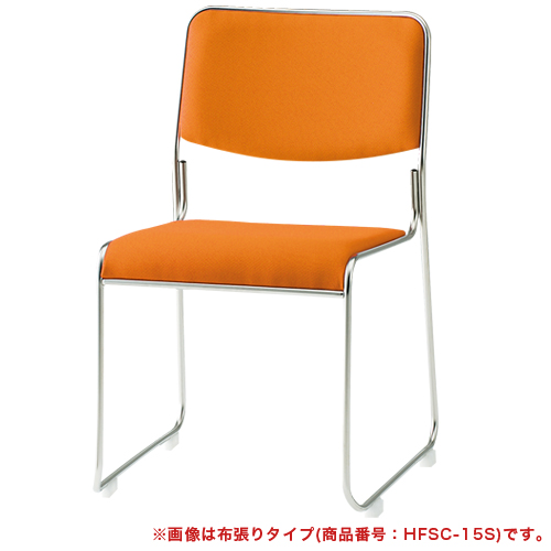 スタッキングチェア 4脚セット ミーティングチェア 会議イス スタッキングチェア パイプイス 会議 会議室 受付 積み重ね 椅子 会議椅子 FSC-15SLS LOOKIT オフィス家具 インテリア
