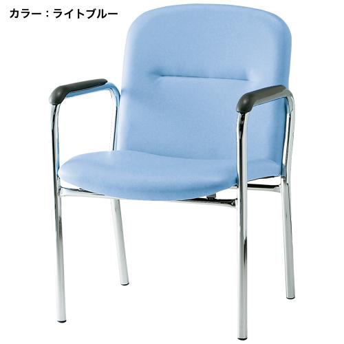 ミーティングチェア 肘付き 打ち合せ 休憩室 FSQ-4AL ルキット オフィス家具 インテリア