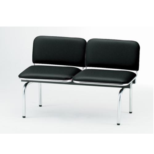 ロビーチェア 2人用 ベンチ 抗菌 防汚 シンプル カラフル 椅子 チェア ロビー オフィス FUL-2L