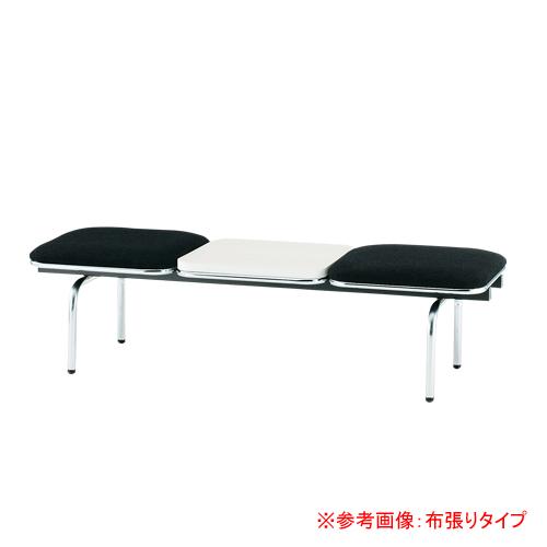 ロビーチェア 2人用 ベンチ テーブル付き 抗菌 防汚 シンプル カラフル 椅子 チェア ロビー オフィス FUL-2NTL