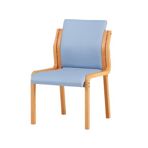 ダイニングチェア 椅子 チェアー 食堂椅子 ミーティングチェア 会議用チェア 会議用チェアー ひじ掛け無し 木製チェア 受付ロビー 控室 職場 老人 FVM-6L