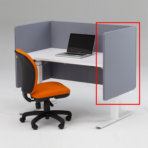 デスクトップサイドパネル 職場 デスクトップパネル サイド仕切り 間仕切り パーテーション サイドパネル 衝立 ボード オフィス パソコンデスク FWD-SP07