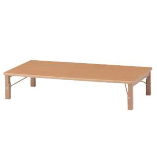 キッズテーブル ローテーブル 保育園 幼稚園 キッズスペース キッズルーム 作業台 木製 ナチュラル 子ども用家具 キッズ家具 作業台 テーブル GTO-1260L