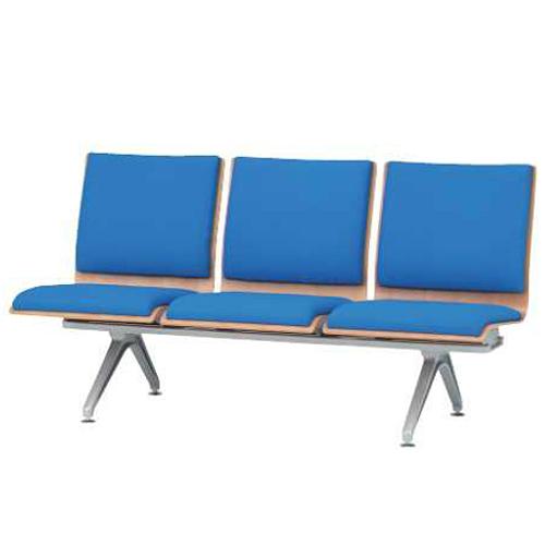 ロビーチェア 3人掛け 3人用 ロビーチェア 椅子 長椅子 ベンチ ベンチシート 待合室 待合スペース 病院 薬局 施設 休憩スペース チェア エントランス LM-3