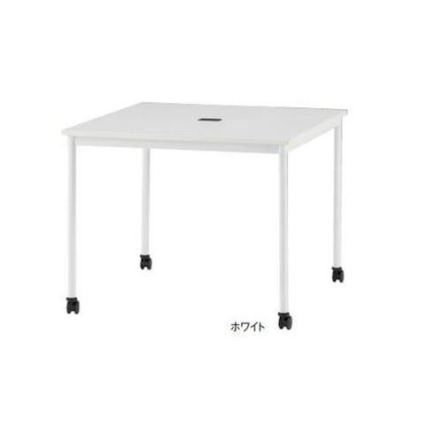 ミーティングテーブル キャスタータイプ 正方形 角型テーブル 会議テーブル オフィステーブル ミーティングスペース 事務所 オフィス RM-990C