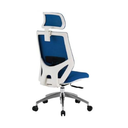 オフィスチェア ヘッドレスト付き デスクチェア PCチェア ミーティングチェア オフィス家具 チェア メッシュチェア キャスター付き FCM-11-H