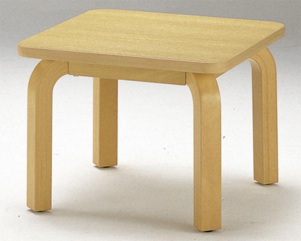 サイドテーブル FTV-66 ラウンジ ミニテーブル 木製 LOOKIT オフィス家具 インテリア