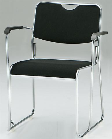 スタッキングチェア FSC-25MA 肘付き スタック 椅子 ルキット オフィス家具 インテリア