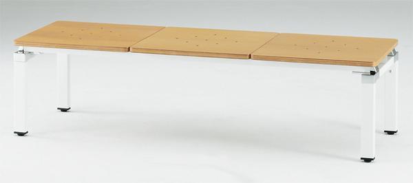 ロビーチェア FLC-3 長椅子 休憩スペース ベンチ ルキット オフィス家具 インテリア