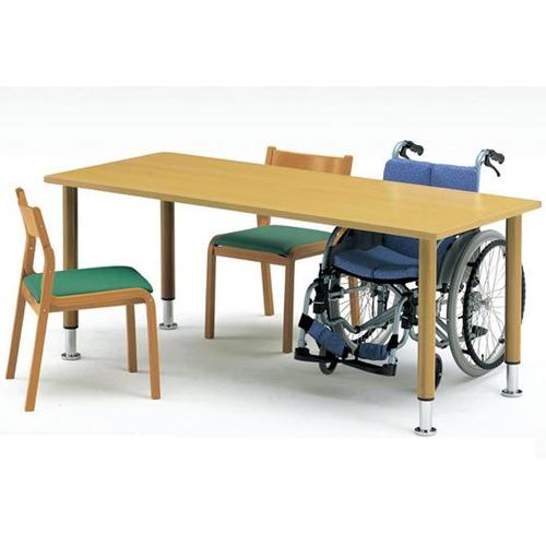 介護施設用テーブル MYT-1575M 木目調 ダイニング