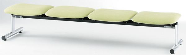 ロビーチェア FSL-4N 背なし 長椅子 フラット イス LOOKIT オフィス家具 インテリア