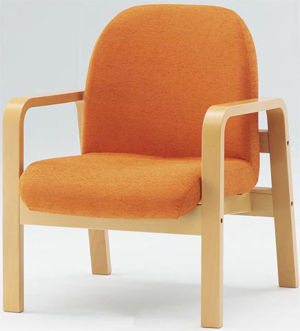 ロビーチェア LW-1A 1人用 シングル カラフル 椅子 LOOKIT オフィス家具 インテリア