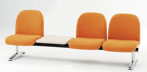 ロビーチェア LA-3T テーブル付 待合室 玄関ホール LOOKIT オフィス家具 インテリア