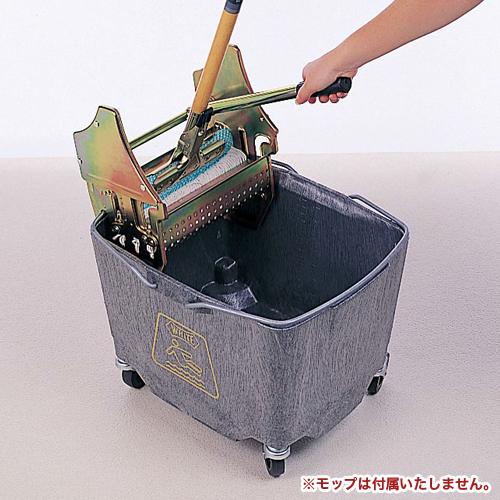 モップ絞り器 セット キャスター脚 学校 CE-455-100S LOOKIT オフィス家具 インテリア