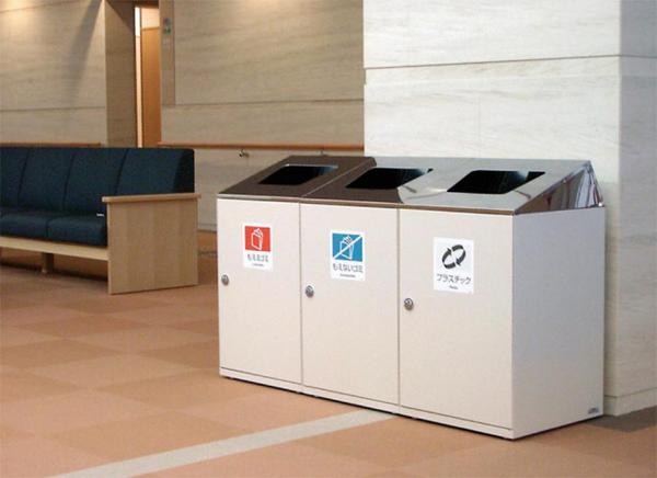 ゴミ箱 DS-186-51 屋内用 ホール フロア 業務用 LOOKIT オフィス家具 インテリア