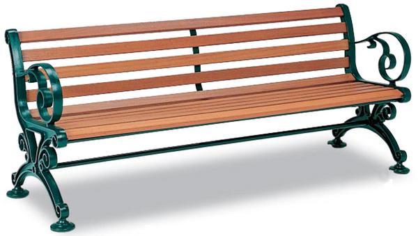 ウッドベンチ BC-303-015 背付 肘付 木製 木目調 LOOKIT オフィス家具 インテリア