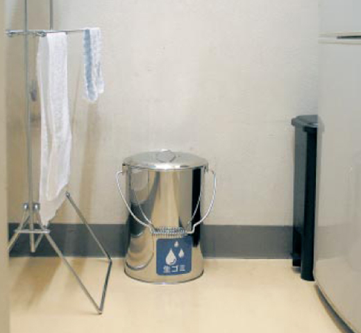 屑入 SU-267-700 灰皿 灰缶 茶がら収集缶 吸殻収集 LOOKIT オフィス家具 インテリア