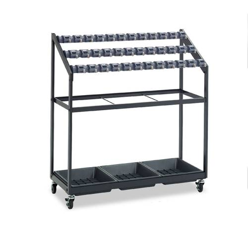 傘立 36本収納 カードロック式 人気 UB-270-036-0 LOOKIT オフィス家具 インテリア