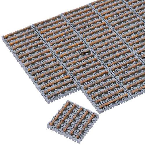 土砂落とし用マット 152×152mm 20個 MR-097-072S LOOKIT オフィス家具 インテリア