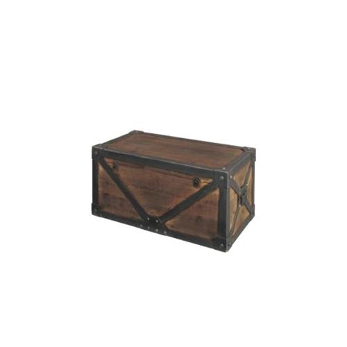 トランクM 木箱 収納ボックス 収納箱 収納ケース 収納家具 インテリア 小物収納 収納 木製 おしゃれ 北欧 モダントランク IW-982