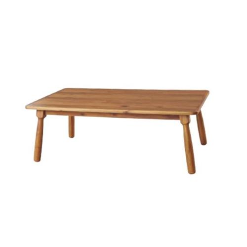 こたつテーブル 幅105×奥行60cm ローテーブル センターテーブル 炬燵 暖房器具 天然木 リビング家具 ナチュラル 北欧 おしゃれ KT-104N