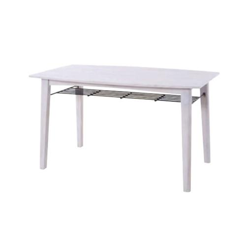 ダイニングテーブル 木製テーブル 食卓 棚付き 天然木 角型テーブル ナチュラル 北欧 シンプル モダン ブリジット ティンバー PM-304T