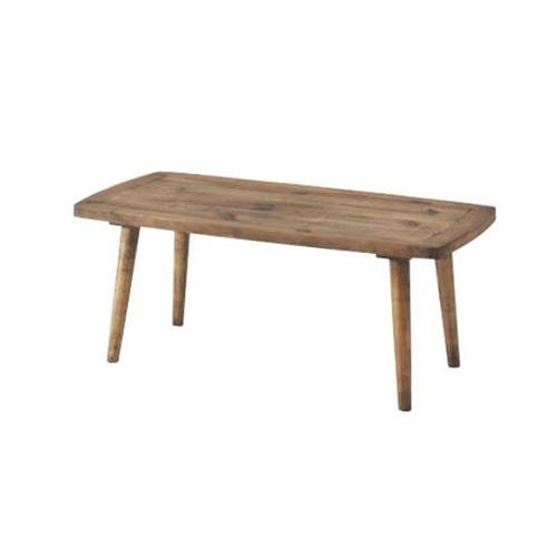 センターテーブル S 幅100cm ローテーブル コーヒーテーブル 木製テーブル 角型テーブル 天然木 リビング家具 北欧 おしゃれ シンプル コーヒーテーブルS PM-451