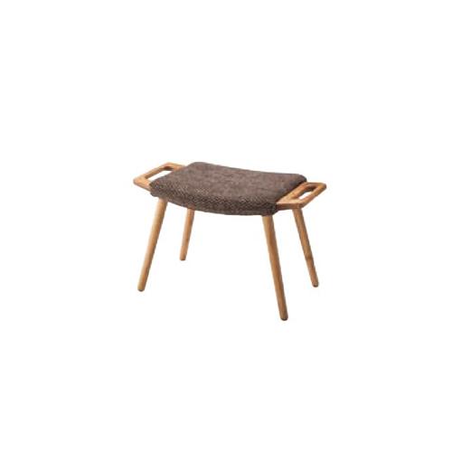 スツール 木製脚 背なしチェア 布張りチェア 肘なしチェア オットマン 一人用 チェア 椅子 リビング 居間 北欧 おしゃれ フリック RTO-50