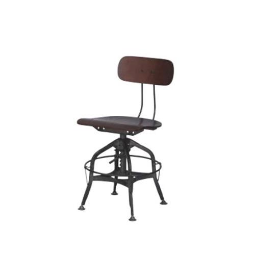 チェア 昇降チェア 木製チェア 昇降機能付きチェア 肘なしチェア 北欧 おしゃれ モダン 椅子 ブラウン ナチュラル TTF-424