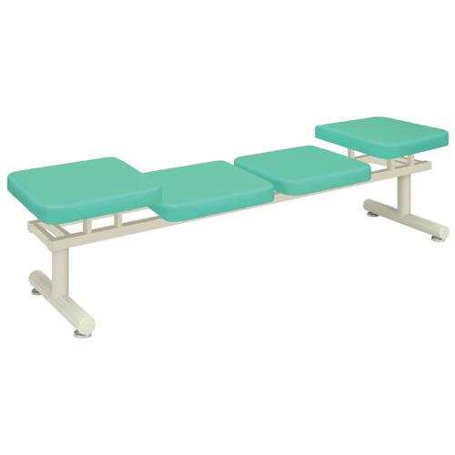 ロビーチェア 4人用 医療院 ベンチ TB-1248-05 送料無料 ルキット オフィス家具 インテリア