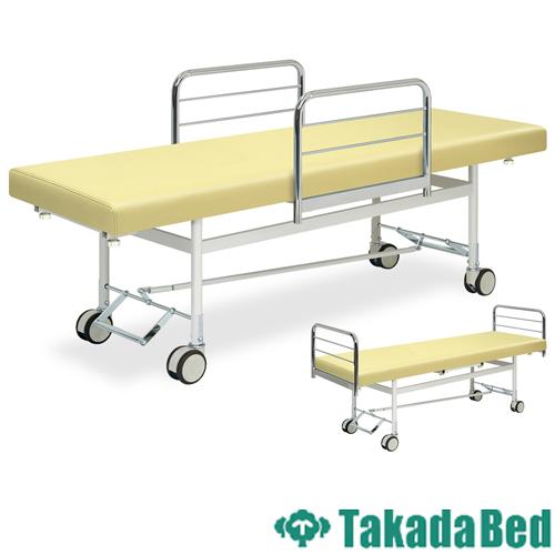 施術台 TB-429 キャスター ベッド 診察台 タンカ 送料無料 ルキット オフィス家具 インテリア
