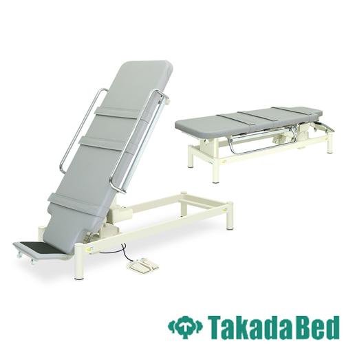 電動ベッド TB-653 リハビリ 診察台 施術台 病院 送料無料