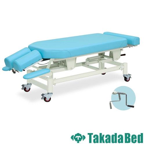 手動昇降台 TB-364 ベッド キャスター 介護 看護 送料無料 LOOKIT オフィス家具 インテリア