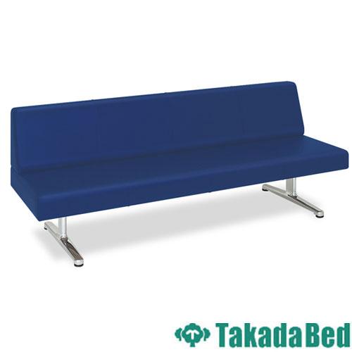 ロビーチェア TB-816-02 長椅子 3人用 レザー 送料無料 ルキット オフィス家具 インテリア