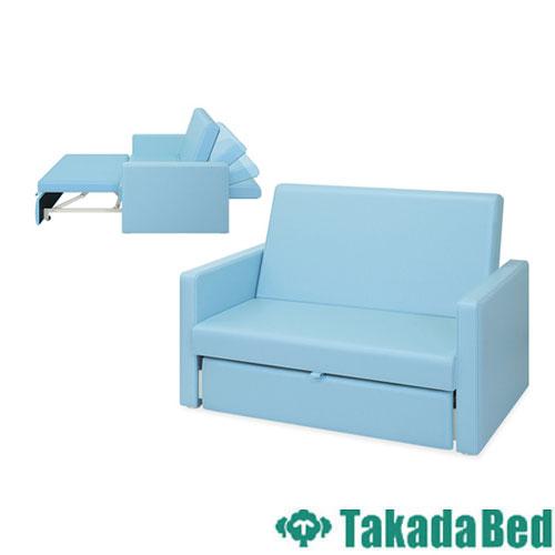 ソファベッド TB-980 リクライニング 長椅子 2人 送料無料, 株式会社屋久島ロック 4e120f24