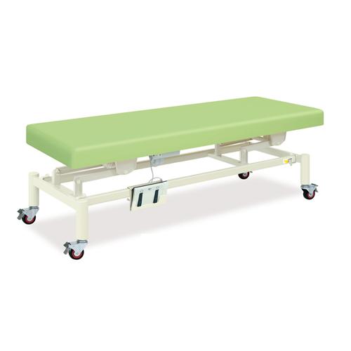 マッサージベッド 充電式 バッテリー式 電動昇降ベッド 施術台 診察用ベッド 医療施設 設備 送料無料 充電式電動キャスタ TB-1455