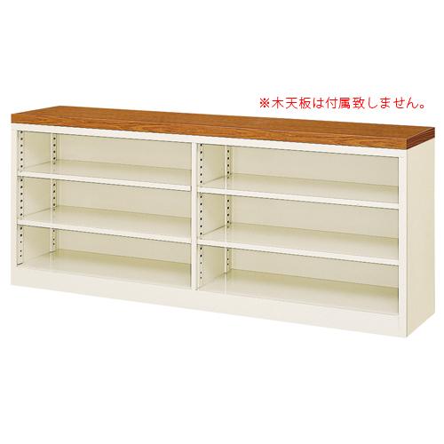 オープン書庫 BER-ST7(N) 2列3段 ロッカー カタログ ルキット オフィス家具 インテリア