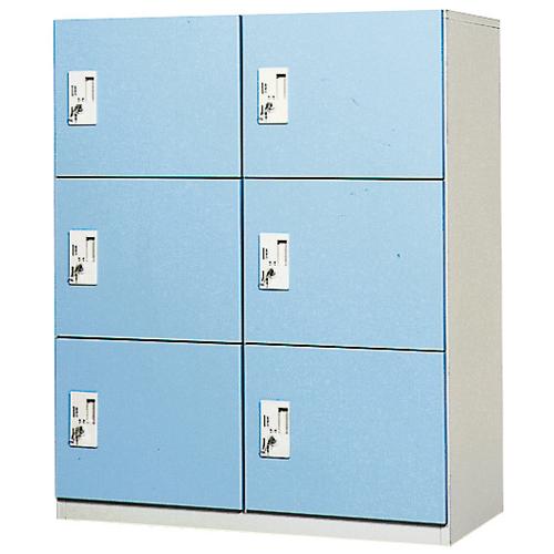 6人用コインロッカー 2列3段 更衣室用 OCR-0623 LOOKIT オフィス家具 インテリア