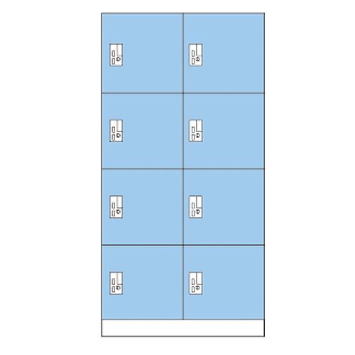 人気特価 【P5倍3/5 10時~14時限定&最大1万円クーポン3 20時~3/11/4 20時~3/11 2時まで】8人用コインロッカー 2時まで】8人用コインロッカー 2列4段 2列4段 荷物入れ用 OCR-0824 LOOKIT オフィス家具 インテリア, ナカシマグン:6bd67584 --- kventurepartners.sakura.ne.jp
