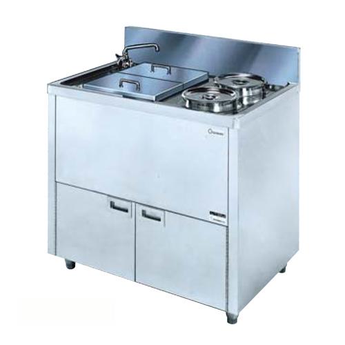 ★送料無料★ ゆで麺器 湯通し 電気調理器 厨房機器 OPB-90A LOOKIT オフィス家具 インテリア