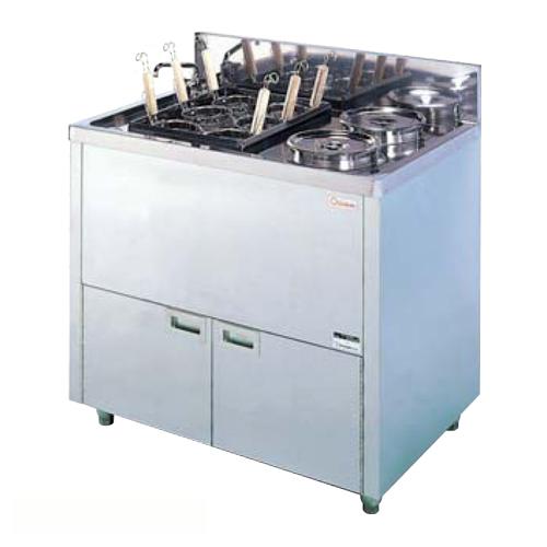 ★送料無料★ ゆで麺器 ボイルタイプ 厨房用 店舗用 OPB-110B LOOKIT オフィス家具 インテリア