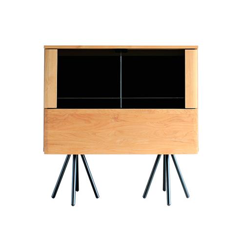 コレクションボード ディスプレイラック コレクションケース ガラス コレクションラック リビング 収納棚 北欧 おしゃれ サイドボード 飾り棚 GALA GALA-100CB