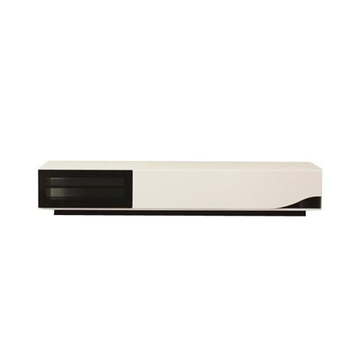 ローボード 幅180cm TVボード TV台 テレビボード 木製 モダン 北欧 完成品 おしゃれ ナチュラル カフェ風 リビング収納 QUATTRO QUATTRO-LB1800