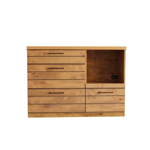 キッチンカウンター キッチンボード レンジ台 キッチン収納 リビング収納 食器棚 木製 カフェ キッチンカウンター 北欧 作業カウンターLINA LINA-120C
