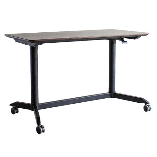 スタンディングテーブル 幅120cm オフィスデスク デスク 机 PC カウンターテーブル リフティングテーブル 昇降テーブル 木製 ダイニングテーブル MOD MODE-120