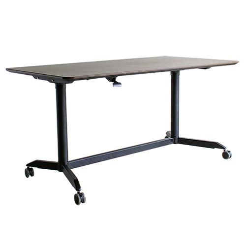 スタンディングテーブル 幅150cm オフィスデスク デスク 机 PC カウンターテーブル リフティングテーブル 昇降テーブル 木製 ダイニングテーブル MOD MODE-150