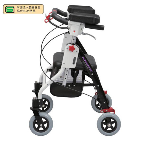 シルバーカー 肘掛け付 高さ調節付 室内用 AR-428E ルキット オフィス家具 インテリア, Japan Net Golf:f526e52e --- kasumin.jp