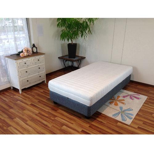 ウレタンマットレス ダブル インテリア 安眠 通気性 快適 板チョコ型カッティング 快眠 寝具 寝室 GA-01D LOOKIT オフィス家具 インテリア