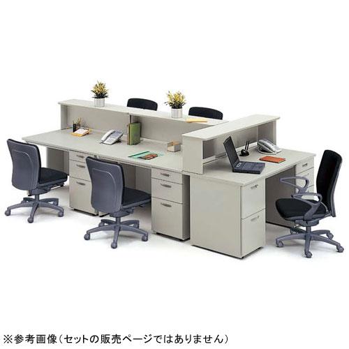 脇机 2段 インサイドワゴン キャビネット NED047A LOOKIT オフィス家具 インテリア